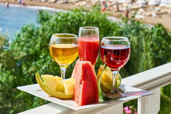 jedzenie podczas wakacji