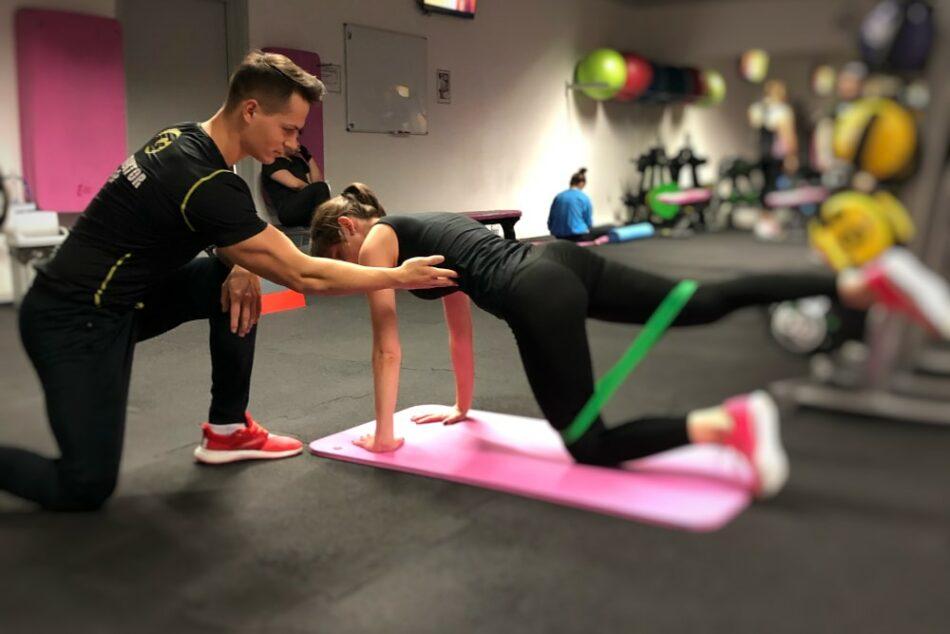 Trening personalny - pierwszy trening